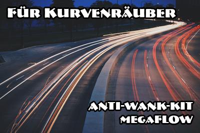 megafLOW Anti-Wank-KIT für eine Achse