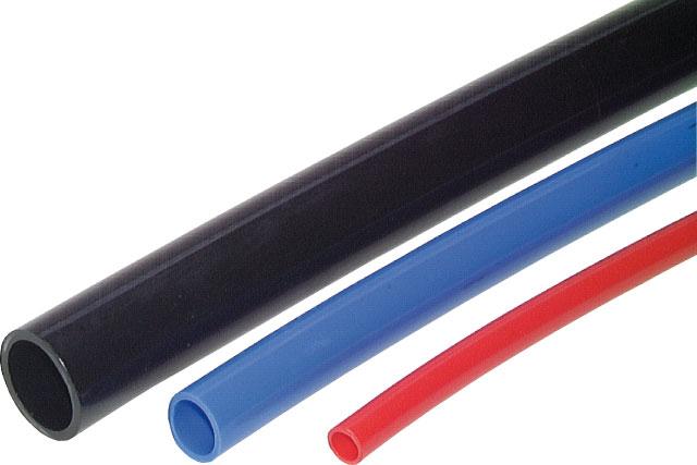 PU-Schlauch 10x6,5, rot, sehr flexibel, 20m Rolle