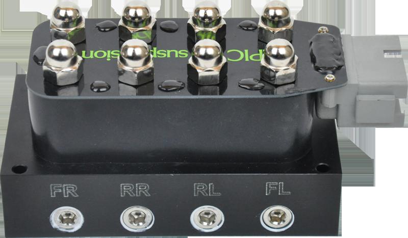 VB4 Einzelrad-Ventilsteuerblock, AccuAir eLevel kompatibel