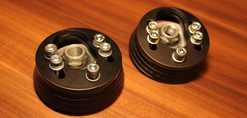 verstellbare vw golf 4 cnc domlager aus alu f r die. Black Bedroom Furniture Sets. Home Design Ideas