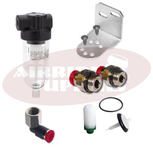 dryAIR automatic Wasserabscheider KIT für Steckfittinge