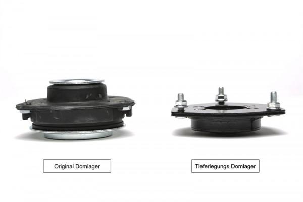 Tieferlegungs - Domlager Set 2. Wahl / Vorderachse-10mm / Airride / Luftfahrwerk +Gewindefahrwerk /