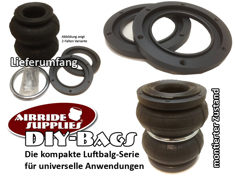 DIY-Luftbalg Full Kit - 4x DIY Luftbalg Kit