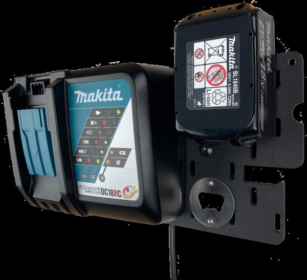 Akkufix Multi+ Wandhalterungssystem für Werkzeug Akkus namhafter Hersteller
