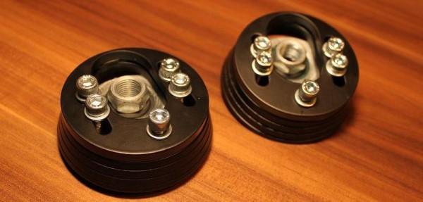 verstellbare VW Golf 4 CNC-Domlager für die Vorderachse